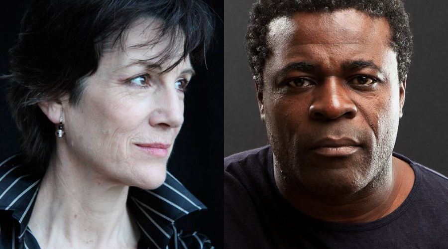 Dame Harriet Walter and Danny Sapani (Credit: BBC)