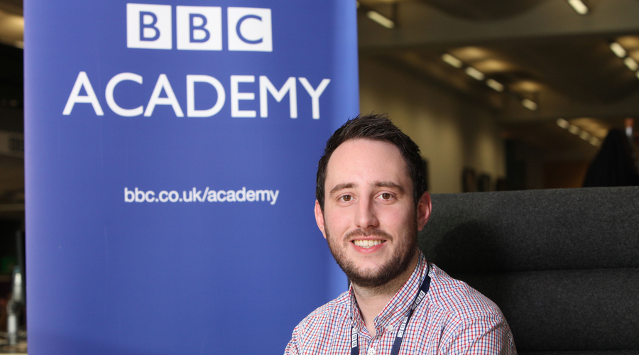 Lawrence Card (Credit: BBC Academy)