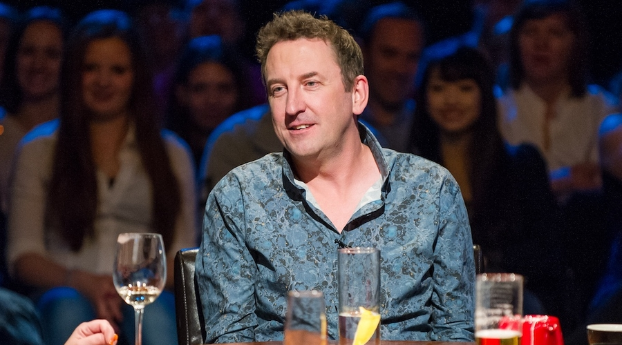 Lee Mack in Alan Davies: As Yet Untitled (Credit: UKTV/Dave)