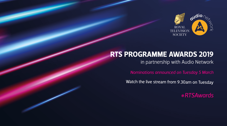 RTS Programme Awards nomination livestream (Graphic courtesy of Freepik.com)