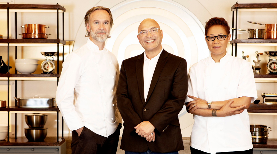 MasterChef judges Marcus Wareing, Gregg Wallace and Monica Galetti (Credit: BBC/Shine TV)