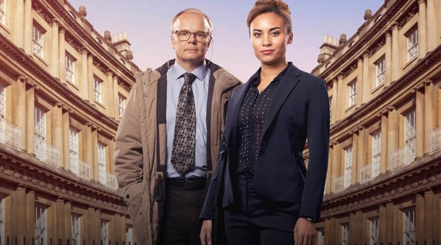 Tala Gouveia and Jason Watkins (Credit: ITV)