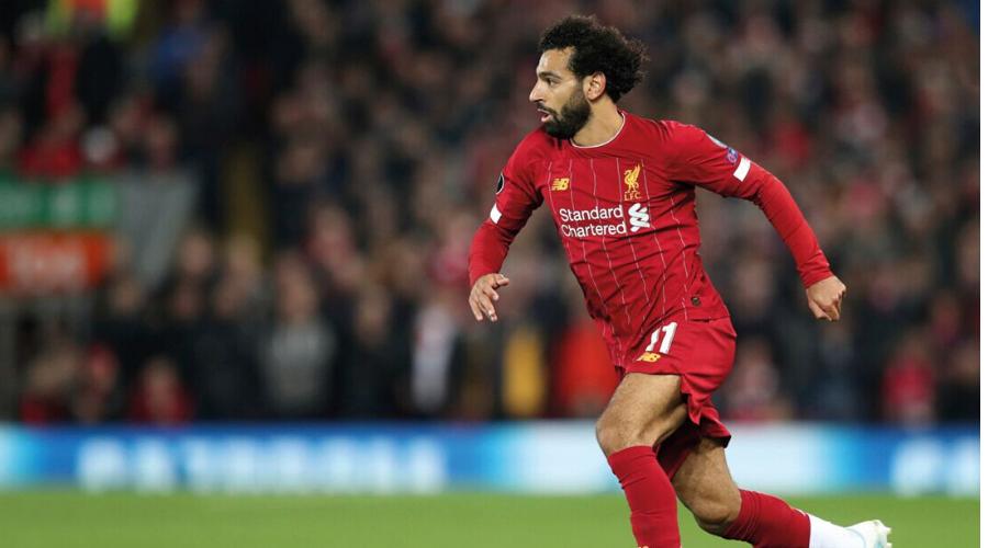 Liverpool's striker Mohamed Salah (credit: AP Photo/Jon Super)
