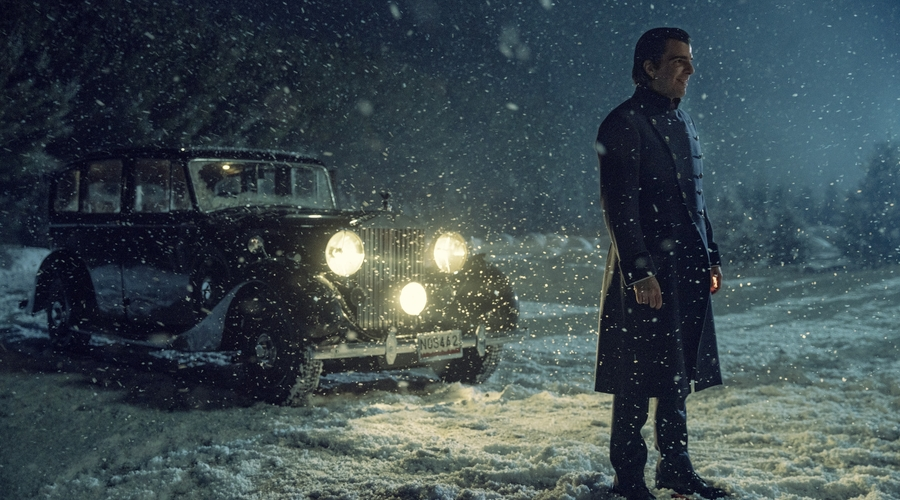 Charlie Manx (Zachary Quinto) in NOS4A2 (Credit: AMC)