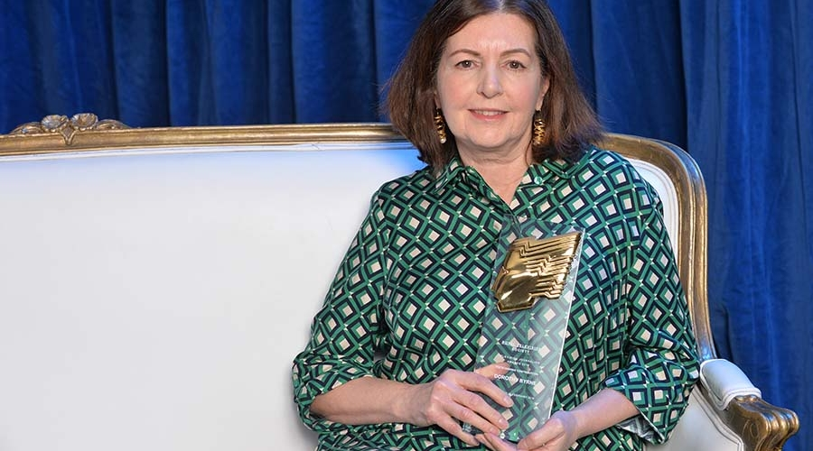 Dorothy Byrne at the 2018 Television Journalism Awards (Credit: RTS/Richard Kendal)