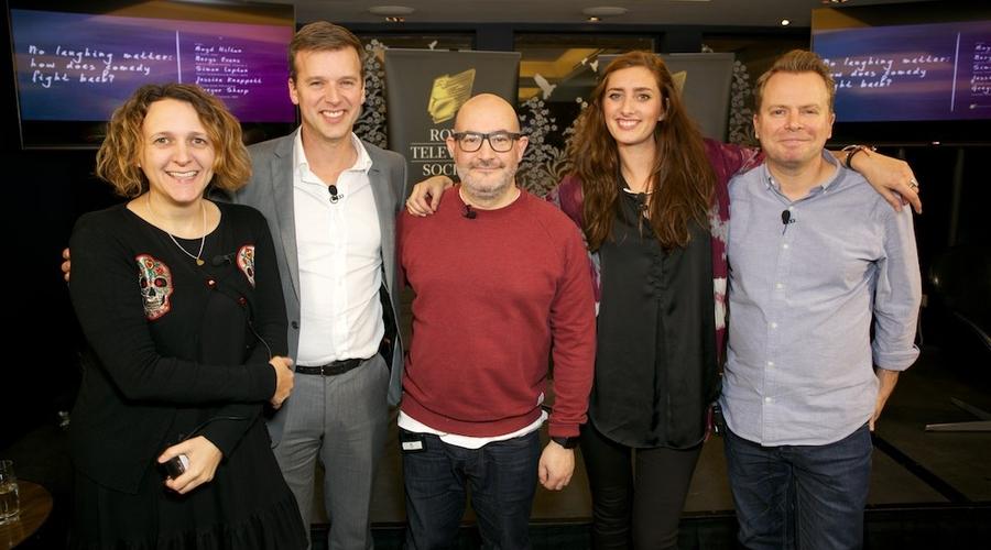Nerys Evans, Simon Lupton, Boyd Hilton, Jessica Knappett, Gregor Sharp