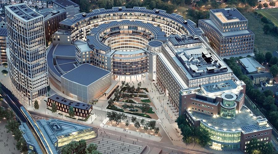 New BBC TV Centre