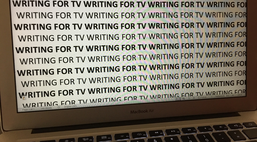 Writing For TV - laptop