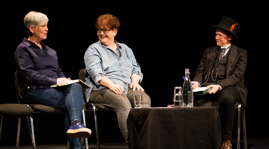 Anne Choma, Sally Wainwright and Dr Finn Mackay (Credit: Dee Robertson Photography)