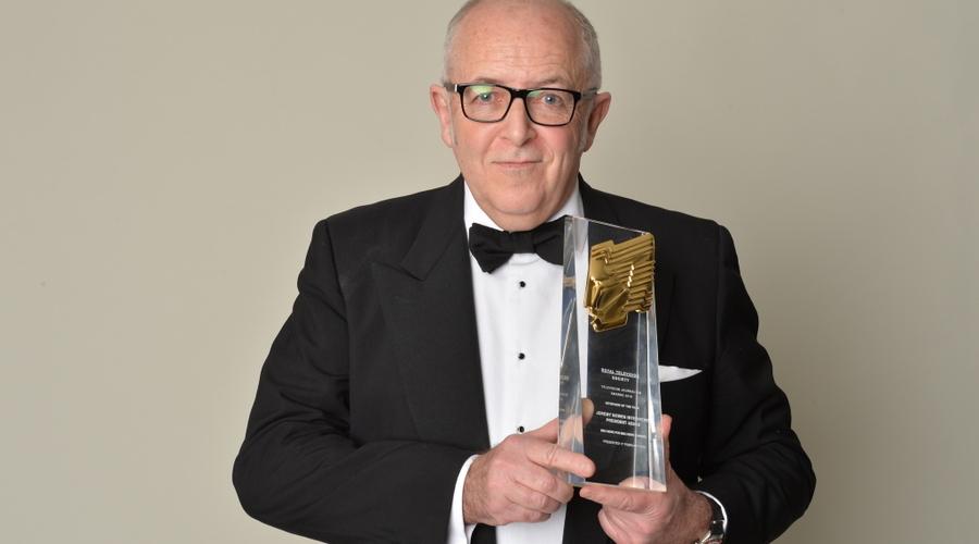 Jeremy Bowen at the RTS Journalism Awards 2016