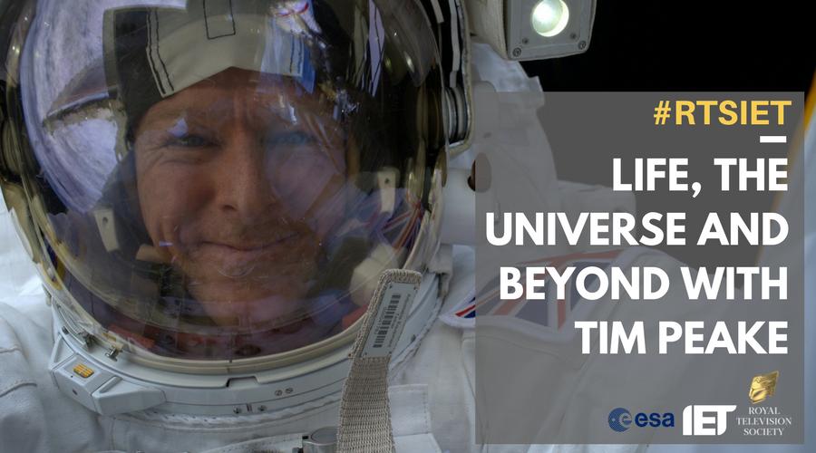 Tim Peake on the ISS (Credit: ESA/NASA)