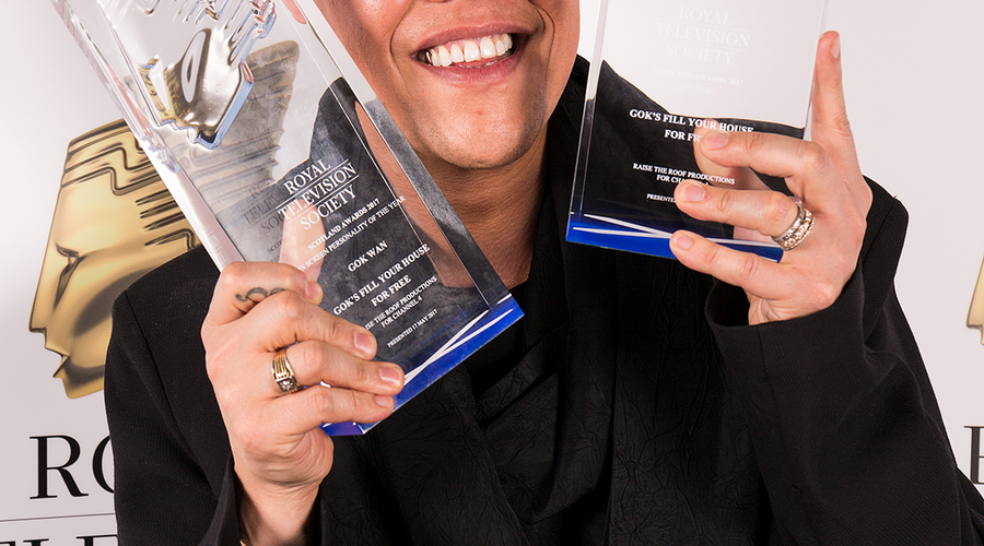 Gok Wan/RTRP winner of Daytime and On Screen Personality of the Year Awards