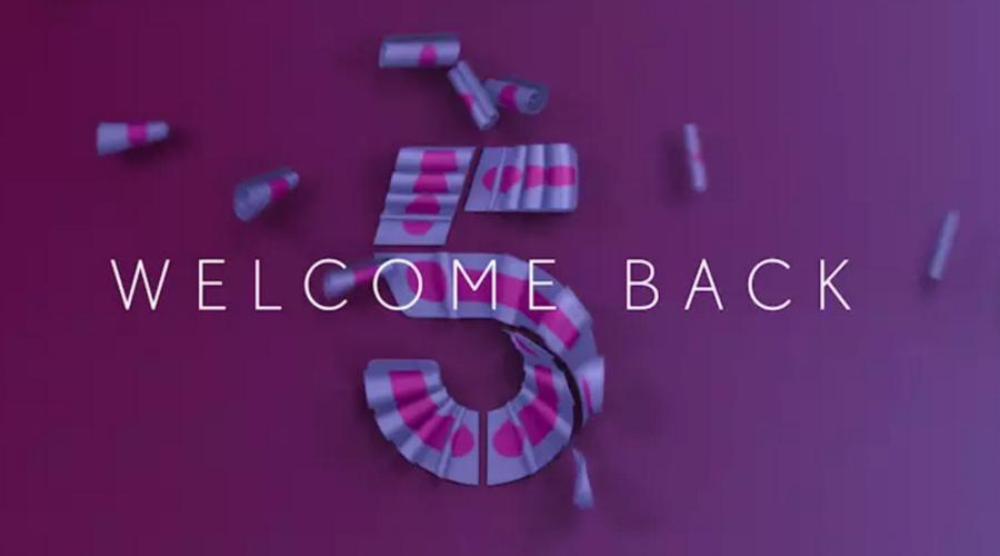Channel 5, Viacom, logo, rebrand, television