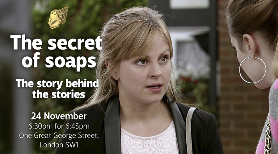 Sarah-Louise Platt played by Tina O'Brien will take part in the RTS Coronation Street - Secrets of the Soaps event in London