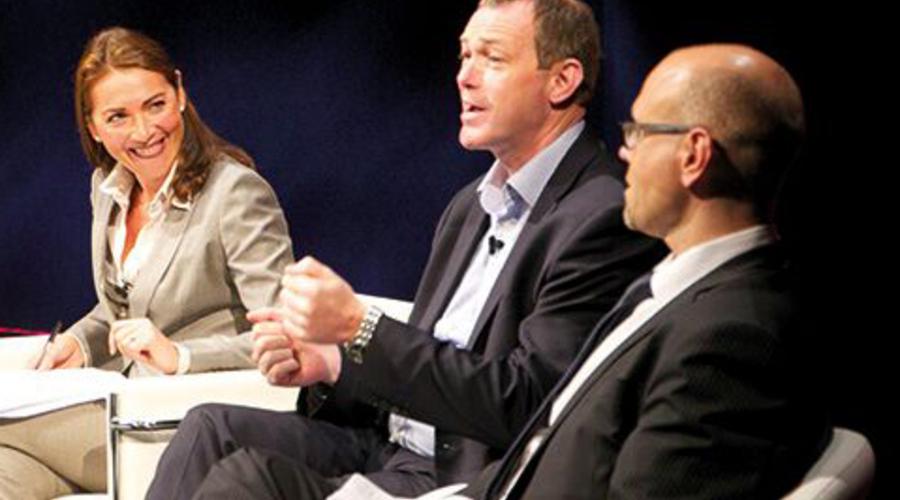 From left: Katya Adler, John McVay and Jörgen Gren (Credit: Paul Hampartsoumian)