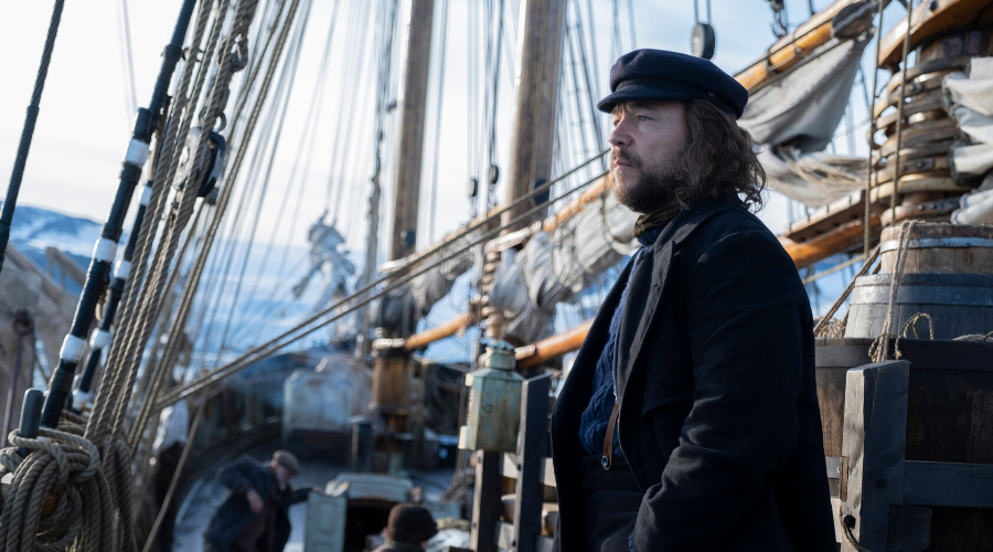 Captain Brownlee (Stephen Graham) in The North Water (Credit: BBC/Harpooner Films Limited/Dean Rogers)