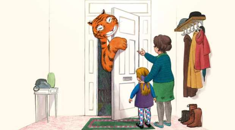 The Tiger Who Came to Tea (credit: Channel 4)