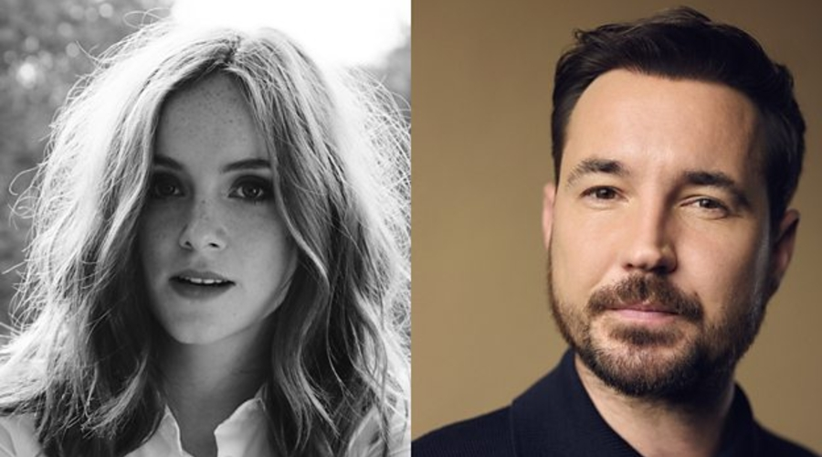 Sophie Rundle and Martin Compston (Credit: BBC)