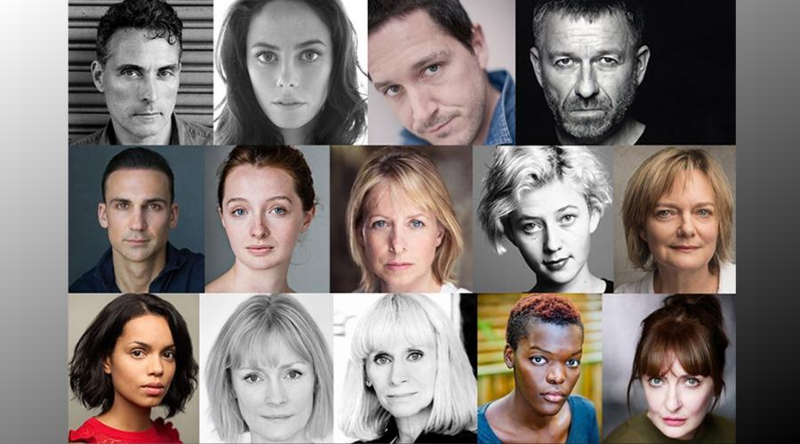 The Pale Horse cast (Credit: BBC)