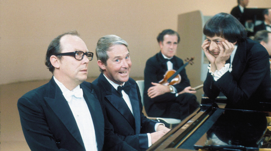 The 1971 Morecambe & Wise Show, featuring put-upon composer Andre Previn (Credit: BBC)