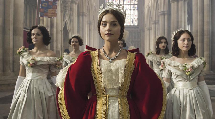 Queen Victoria (Jenna Coleman) in Victoria (Credit: ITV)