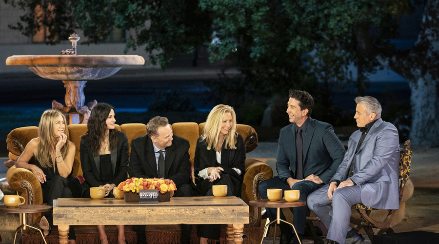 Friends: The Reunion (Credit: HBO Max)