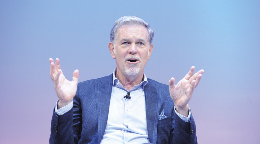 Reed Hastings (Credit: RTS/ Richard Kendal)