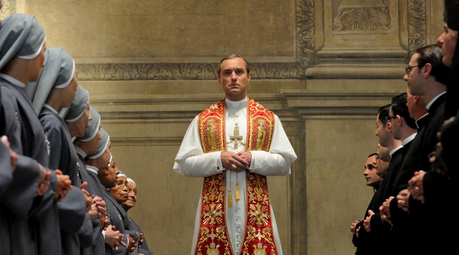 Jude Law stars as the Young Pope (Credit: Gianni Fiorito/Sky)
