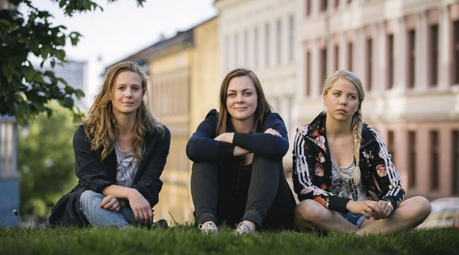 Gine Cornelia Pedersen, Siri Seljeseth and Alex Gjerpen (L-R) (Credit: NK/ALL/Walter Presents)