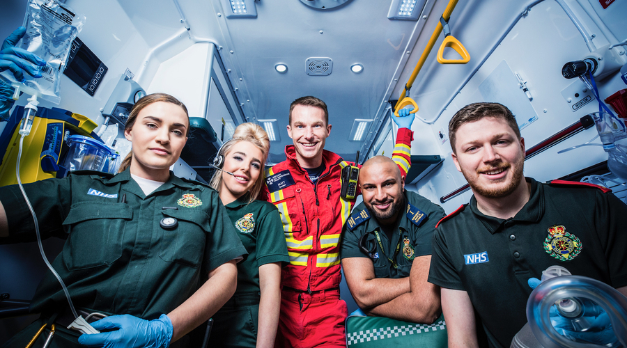 Ambulance (Credit: BBC One)