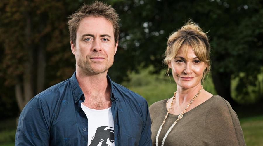 James Murray and Sarah Parish (Credit: Philip Hartley/ News UK)