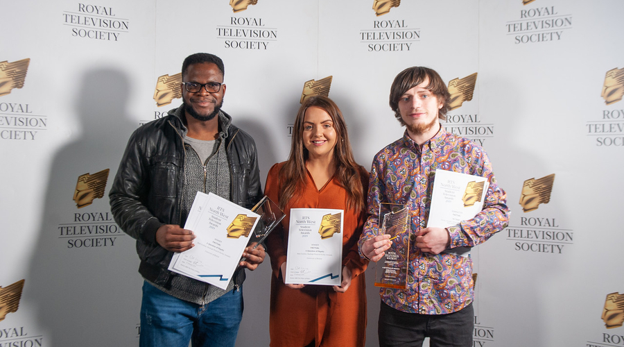 University of Bolton students won the Factual award (Credit: Claire Harrison)