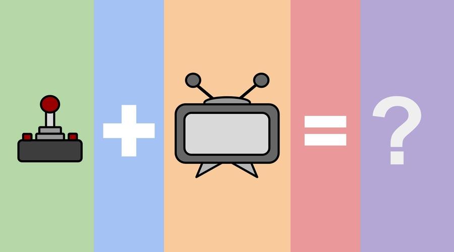 TV plus Games equals