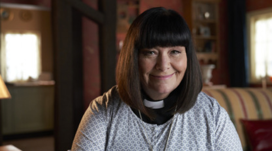 Dawn French as Vicar Geraldine Granger (credit: BBC)