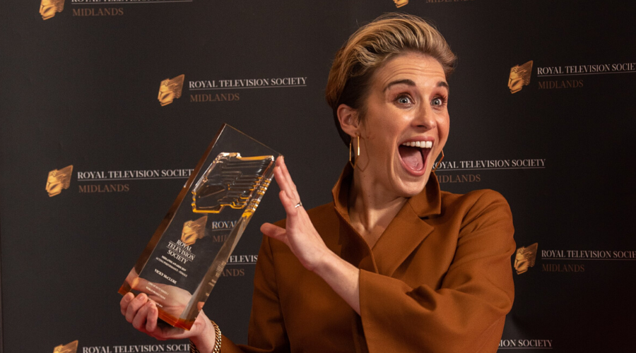 Vicky McClure awarded Best Female Actor at theRTSMidlands Awards 2019