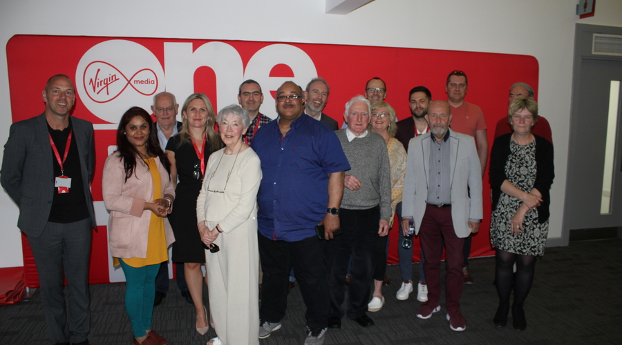 RTS Republic of Ireland members at Virgin Media Television Studios in Dublin