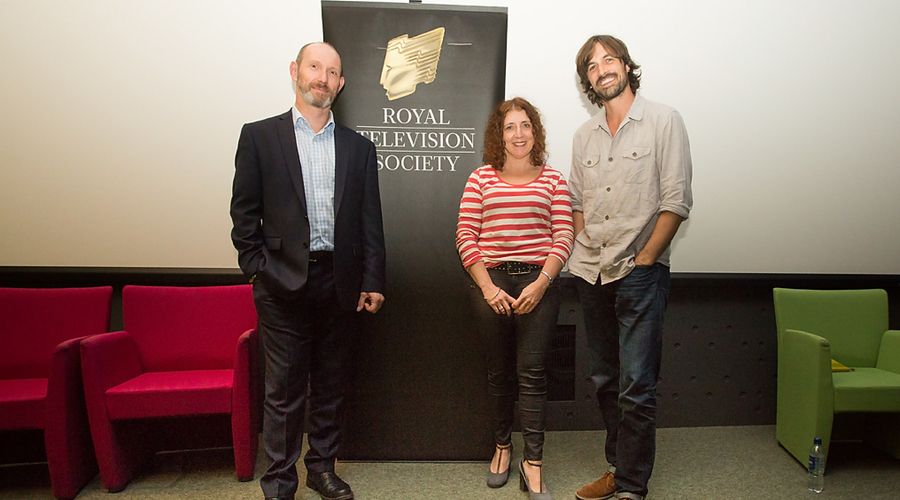 James Wilson, Pauline Law and Jack Cocker (Credit: Ilisa Stack)