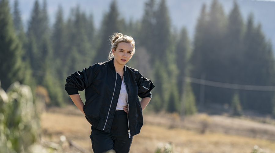Jodie Comer in Killing Eve (Credit: BBC)