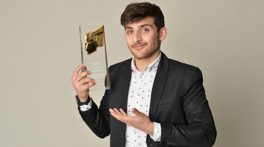 Zand at the 2016 RTS Television Journalism Awards (Credit: Richard Kendal)