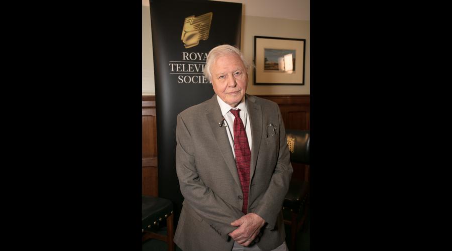 Royal Television Society vice president Sir David Attenborough (Credit: Paul Hampartsoumian)