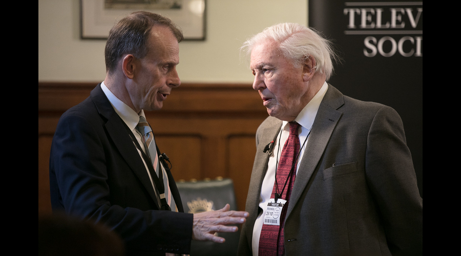 Andrew Marr and David Attenborough