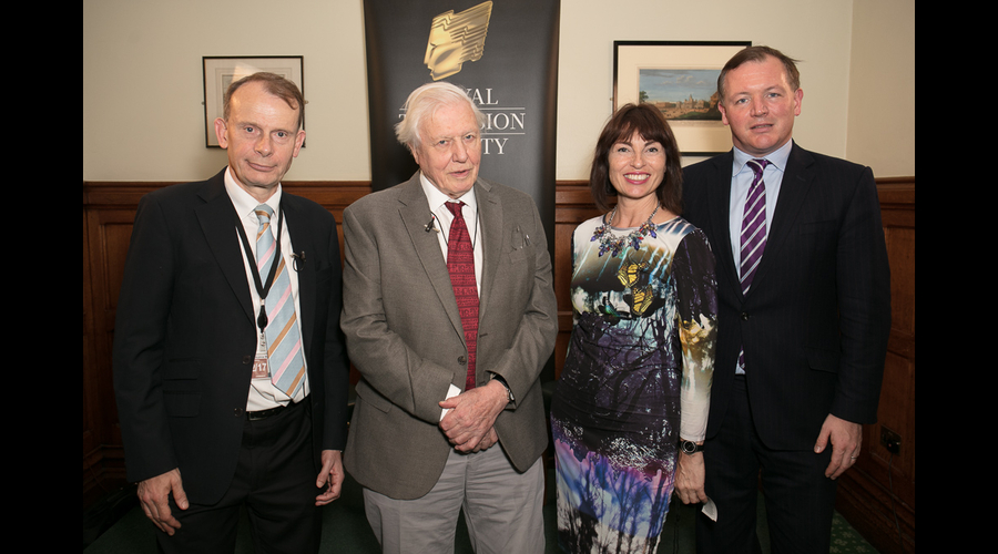 Andrew Marr, Sir David Attenborough, Theresa Wise, Damien Collins (Credit: Paul Hampartsoumian)