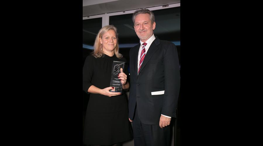 Charlotte Moore with Tom Mockridge