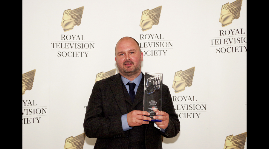 Sound Award received by Micheal MacKinnon from Savalas
