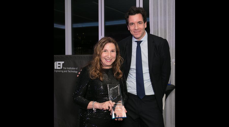 Kay Mellor with Simon Pitts