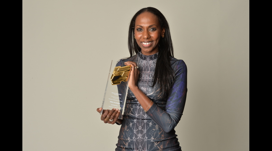 Nima Elbagir, of CNN, was named Specialist Journalist of the Year. Picture by Richard Kendal