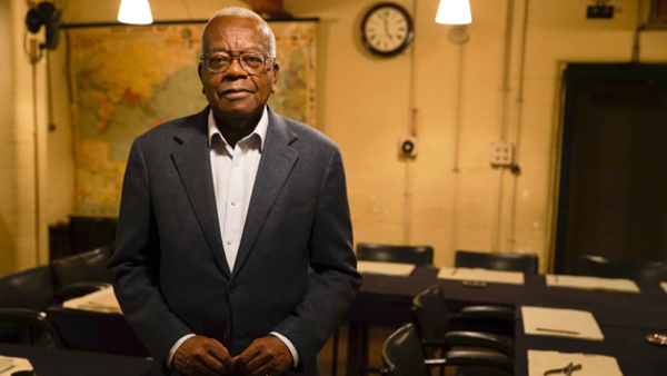Sir Trevor McDonald (Credit: BBC/72 Films/Anthony Dalton)