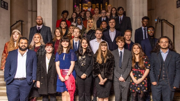 The 2019 RTS bursary cohort (Credit: Paul Hampartsoumian)