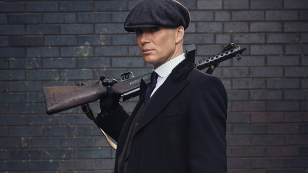 Cillian Murphy in Peaky Blinders (Credit: BBC)
