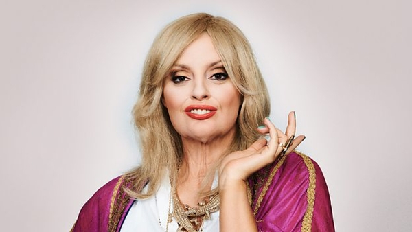 Morgana Robinson as Joanna Lumley (Credit: BBC)